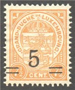 Luxembourg Scott 116 Mint