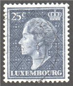 Luxembourg Scott 251 Used