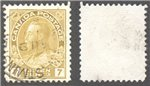 Canada Scott 113iv Used VF (P)