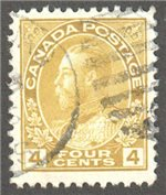 Canada Scott 110d Used VF