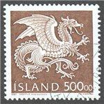 Iceland Scott 677 Used