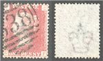 Great Britain Scott 33 Used Plate 135 - GF
