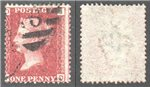 Great Britain Scott 33 Used Plate 215 - JD