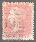 Great Britain Scott 33 Used Plate 146 - FB (2)