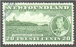 Newfoundland Scott 240 Used VF (P13.7)