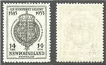Newfoundland Scott 221b MNH VF (P)