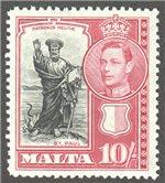 Malta Scott 205 Mint