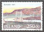 Iceland Scott 755 Used