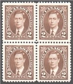Canada Scott 232 Mint VF Block