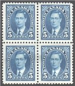 Canada Scott 235 Mint VF Block