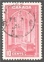Canada Scott 241a Used VF