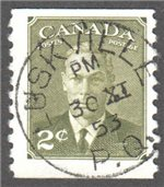 Canada Scott 309 Used VF