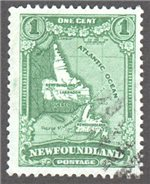 Newfoundland Scott 172 Used F (P13.5)