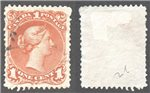Canada Scott 22ii Used VF (P)
