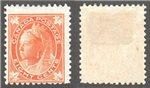 Canada Scott 72iv Mint F (P)