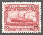 Newfoundland Scott 146 Used VF (P13.5x12.75)