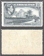 Gibraltar Scott 110a Mint (P)