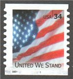 United States Scott 3550 Used PNC 1111