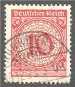 Germany Scott 325 Used