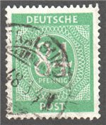 Germany Scott 555 Used