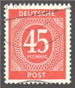 Germany Scott 550 Used