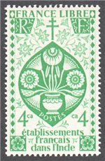 French India Scott 145 Mint