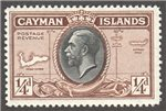Cayman Islands Scott 85 Mint