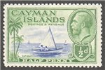 Cayman Islands Scott 86 Mint
