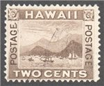 United States Hawaii Scott 75 Used