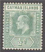 Cayman Islands Scott 33 Mint
