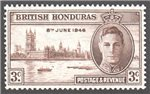 British Honduras Scott 127 MNH