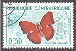 Central African Republic Scott 4 Used