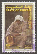 Kuwait Scott 1410 Used
