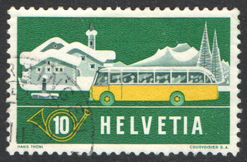 Switzerland Scott 345 Used
