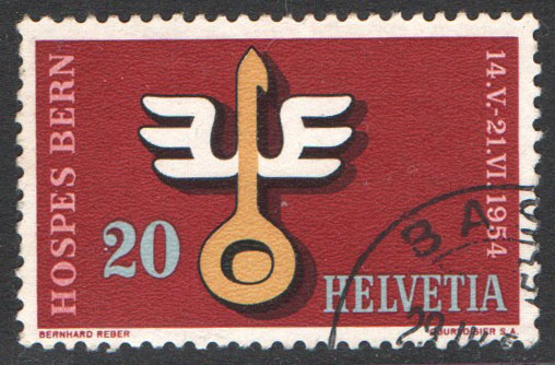 Switzerland Scott 348 Used