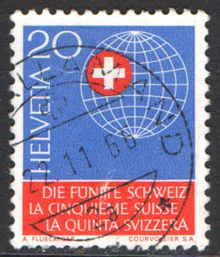 Switzerland Scott 476 Used