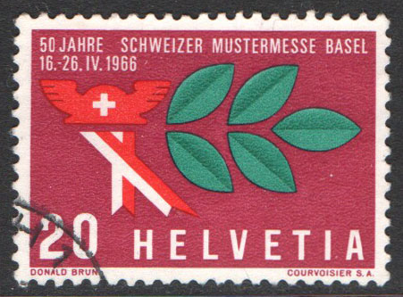 Switzerland Scott 474 Used