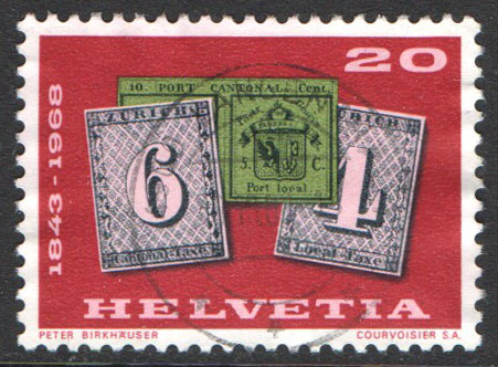 Switzerland Scott 492 Used