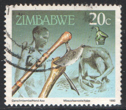 Zimbabwe Scott 621 Used