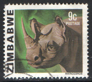 Zimbabwe Scott 419 Used