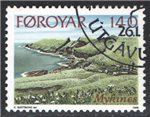 Faroe Islands Scott 33 Used