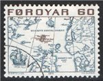 Faroe Islands Scott 10 Used