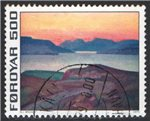 Faroe Islands Scott 20 Used