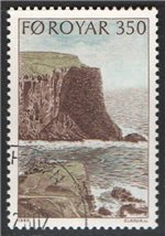 Faroe Islands Scott 198 Used