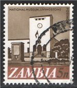 Zambia Scott 42 Used