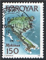 Faroe Islands Scott 34 Used