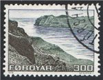 Faroe Islands Scott 17 Used