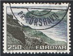 Faroe Islands Scott 16 Used