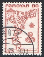 Faroe Islands Scott 13 Used