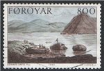 Faroe Islands Scott 124 Used